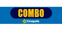 Tarjeta de regalo Combo cinepolis