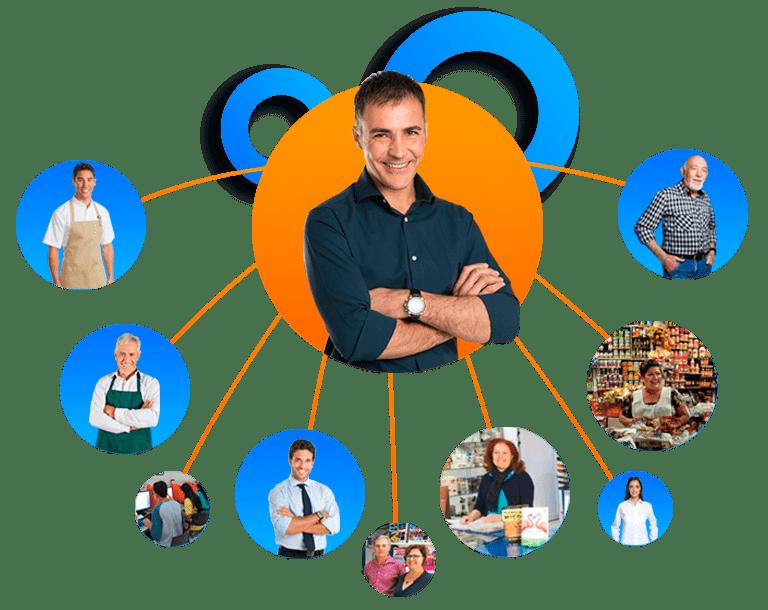 Crea tu propia red y afilia a personas que estén interesadas en vender recargas electrónicas de tiempo aire para así ganar sobre sus ventas.