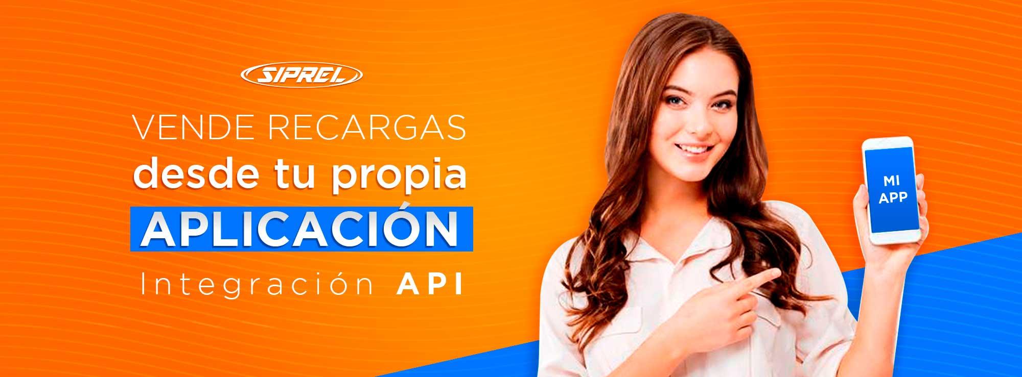 Quiero integrar recargas electrónicas a mi sistema, app, o punto de venta con API siprel.mx