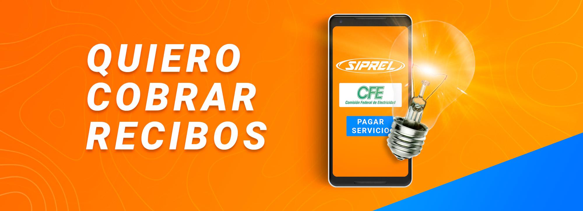 Cobra recibos en tu negocio. Pago de servicios de telefonía fija, luz, cable, internet, gas y telepeaje. CFE, Telmex, Sky, Dish, Megacable, Cablemas, Totalplay, Izzi y Gas Natural.