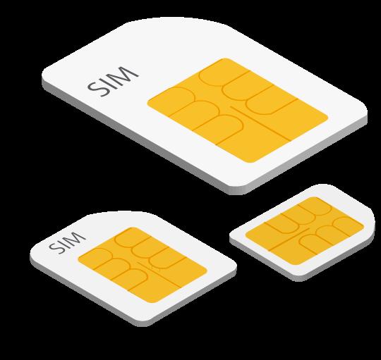 Ideal para chips Telcel, Movistar, Unefon, AT&T, Nextel, Iusacell, Virgin, Cierto, Maz Tiempo, SIMPATI, Oui, Flash Mobile y Weex en todo México.