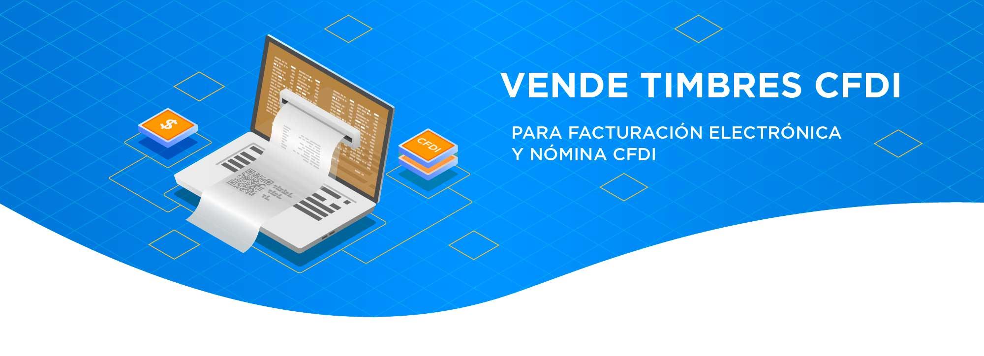 Haz negocio vendiendo timbres CFDI, Recibe la comisión adicional del 10% en tiempo aire al vender este producto.