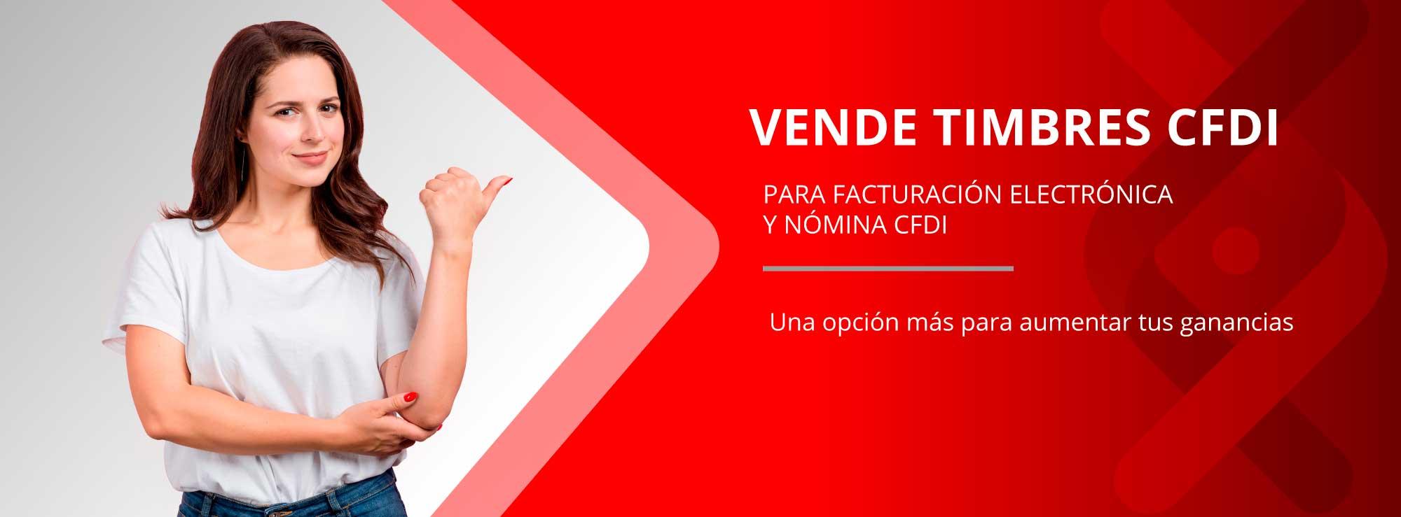 Haz negocio vendiendo folios digitales CFDI, Recibe la comisión adicional del 10% en tiempo aire al vender este producto.
