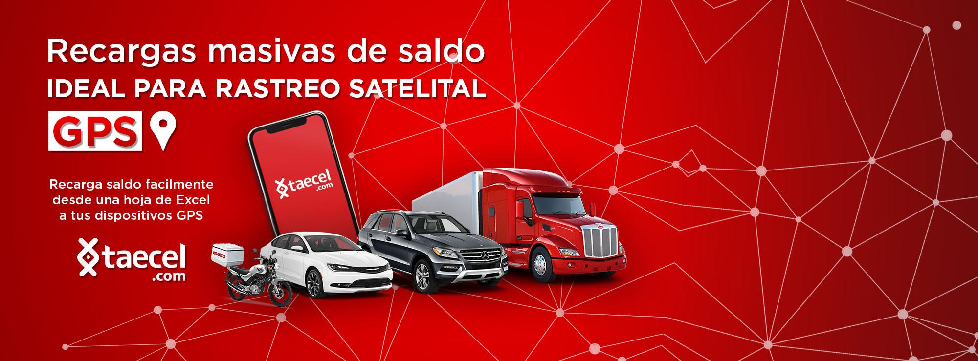 Con TAECEL Vende multirecargas de tiempo aire de todas las compañias celulares en México Recargas Telcel, Sistema de recarga masiva de saldo para celular ideal para empresas de geolocalización y rastreo GPS , para todas las compañias de telefonia celular en México, recarga chips GPS