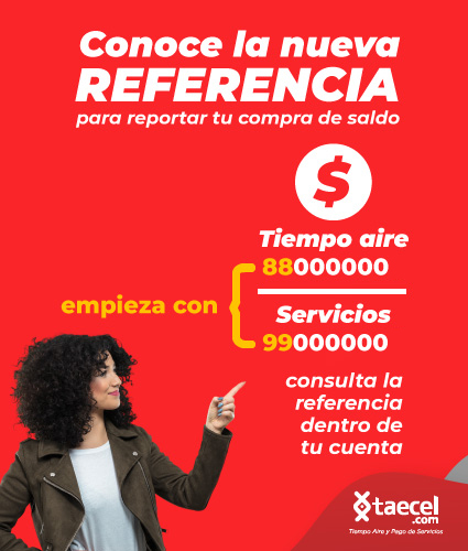 referencia de pago taecel movil