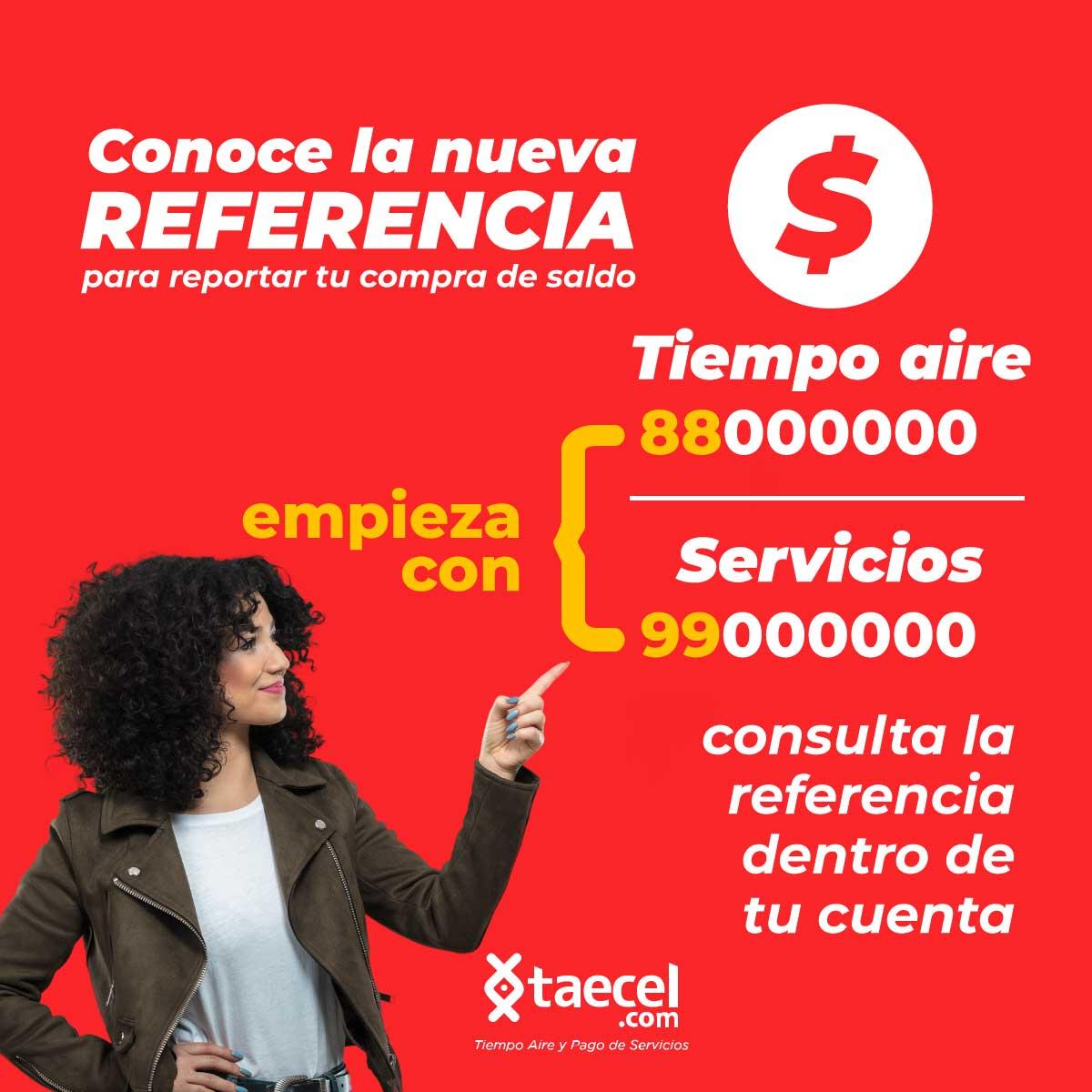 Referencia de pagos