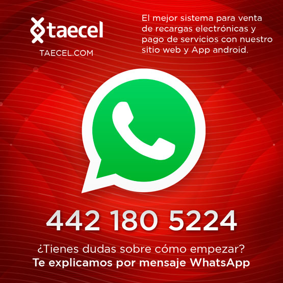 Te explicamos por whatsapp