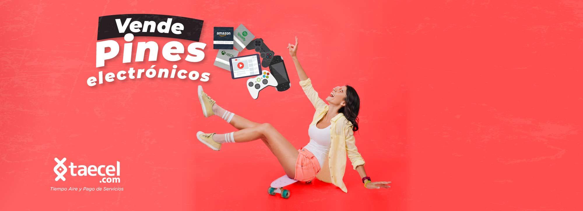 Vende pines electrónicos, taecel.com sistema servicio en linea para vender recargas electrónicas en tu negocio usando tu computadora, tablet o celular y ganando la mejor comision de recargas electronicas. venta de recargas electronicas y pago de servicios recargas electronicas por internet, distribuidor de recargas electronicas, como vender recargas, vender saldo, recargas telcel, recargas Movistar, recargas at&t, recargas weex, vender mas, vender en mi tienda, tienda de recargas, como vender recargas en mi tienda, vender recargas tienda, recargas Oui, recargas SIMPATI, como vender recargas, como cobrar recibos de servicios, vender giftcards, vender tarjetas de regalo