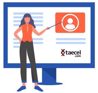 Registrate ahora a taecel.com