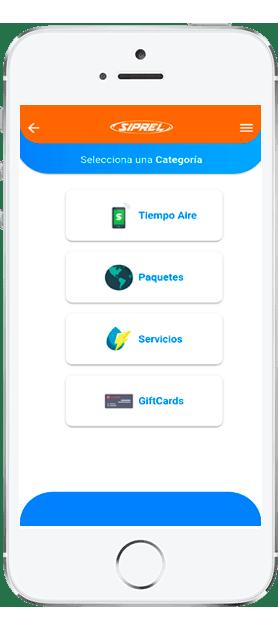 App Vender Saldo. Pago de servicios y recargas electronicas de todas las compañias por internet.
