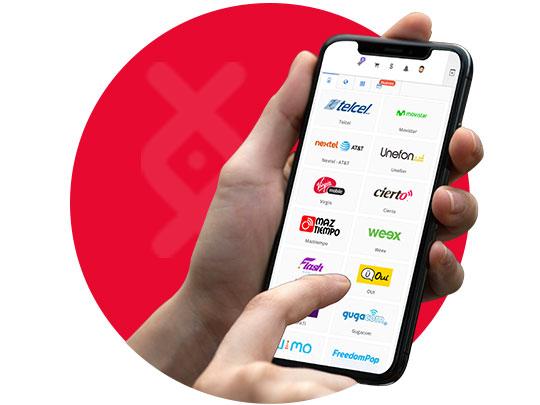 Recarga Electronica Telcel venta de recargas