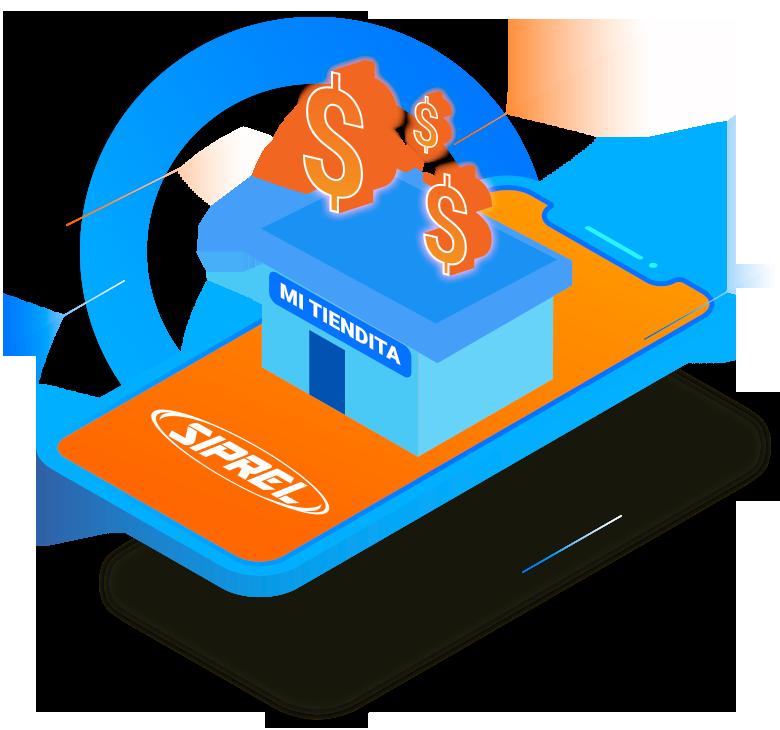 Todos los negocios, tienditas, ciber, papelerías, pueden vender recargas electrónicas Telcel, Movistar, Unefon, AT&T, Nextel, Iusacell, Virgin, Cierto, Maz Tiempo, Alo, Tuenti, Weex, Flash Mobile.