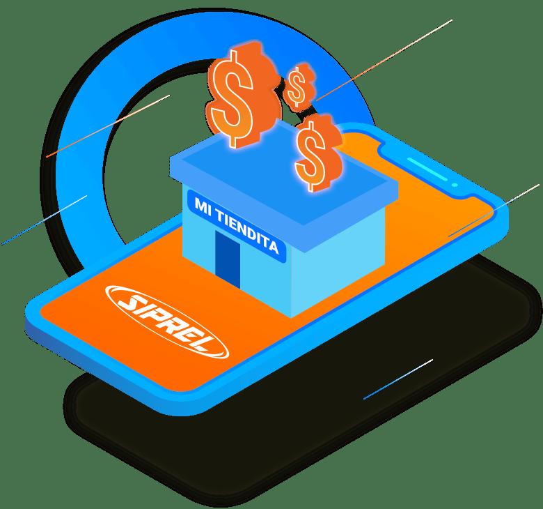 Todos los negocios, tienditas, ciber, papelerías, pueden vender recargas electrónicas Telcel, Movistar, Unefon, AT&T, Nextel, Iusacell, Virgin, Cierto, Maz Tiempo, Weex, Flash Mobile, Oui, SIMPATI